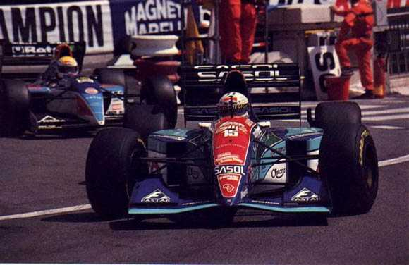 In Monaco 1994 raced well, 4th position